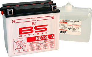 BS Battery Dry Range BB18L-A