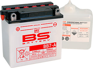 BS Battery Dry Range BB7-A