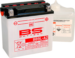 BS Battery Dry Range BB9L-A2