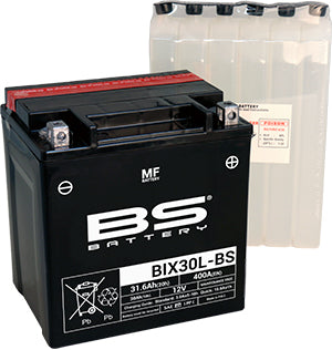 BS Battery MF Range BIX30L-BS