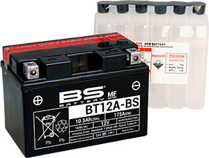 BS Battery MF Range BT12A-BS