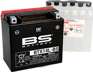 BS Battery MF Range BTX14L-BS