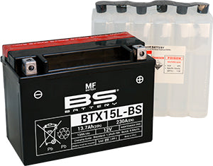 BS Battery MF Range BTX15L-BS