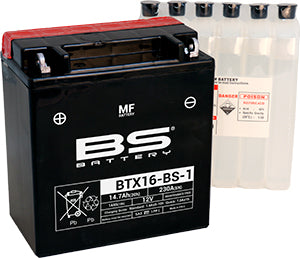 BS Battery MF Range BTX16-BS-1