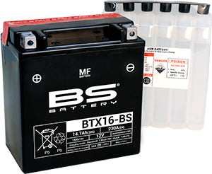 BS Battery MF Range BTX16-BS