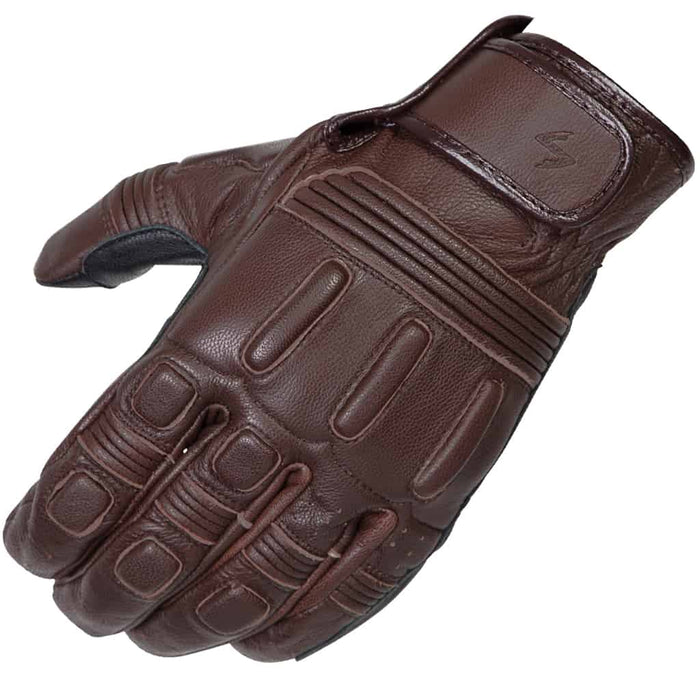 Scorpion Bixby Leather Glove in Brown