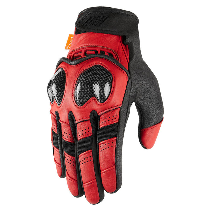 Icon Contra2 Gloves in Red
