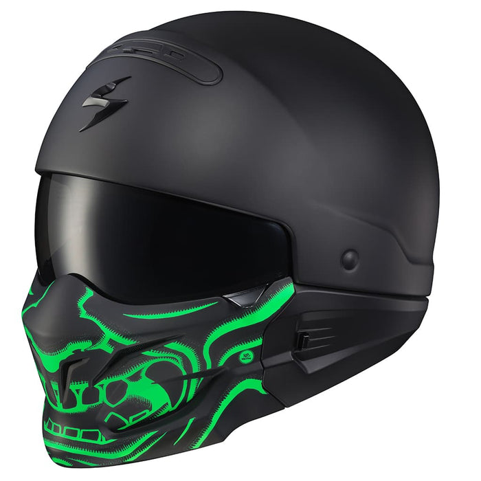 Scorpion Covert Samurai Face Mask in Green
