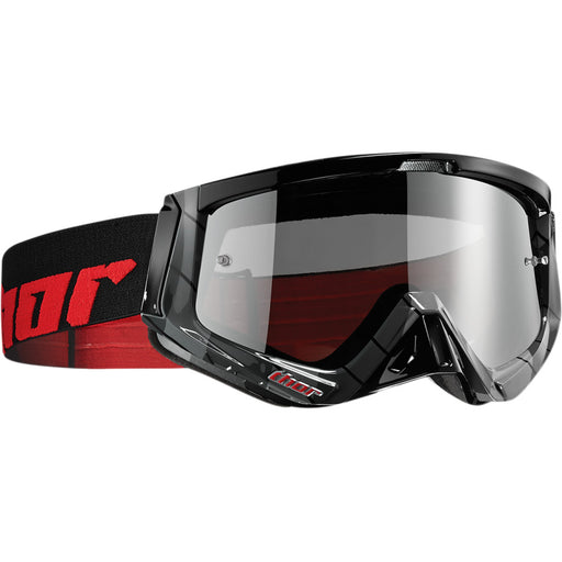 Thor Sniper Chase Goggles in Black/Red
