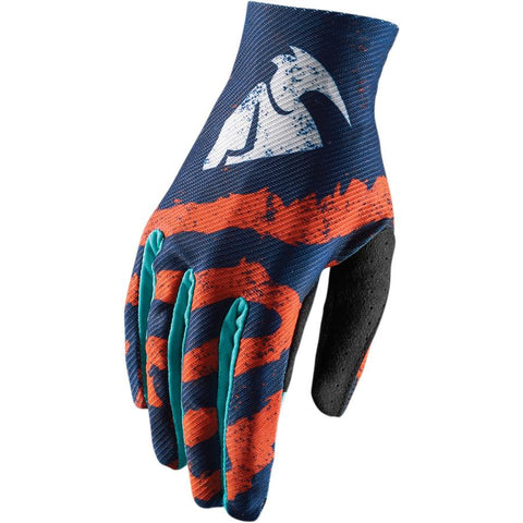 Thor Youth Void Glove ORANGE/TEAL