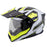 Scorpion EXO-AT950 Tucson Helmets in White/Neon