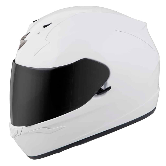 Scorpion EXO-R320 Solid Helmets - Dot in White