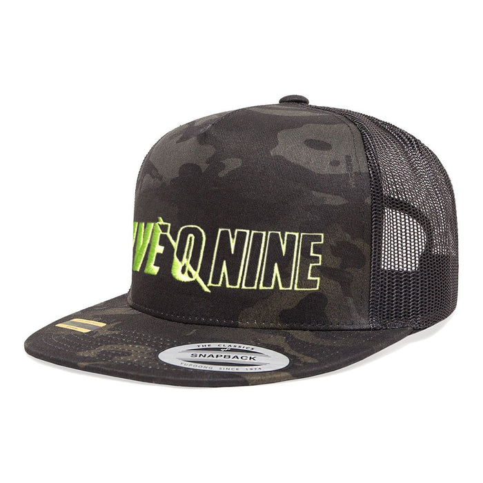 BLACK FRIDAY SALE: 509 Black Camo Trucker Hat