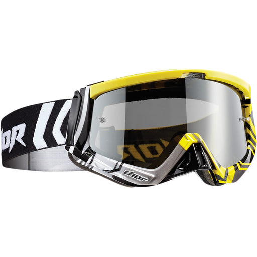 Thor Sniper Geo Goggles in Yellow/Black