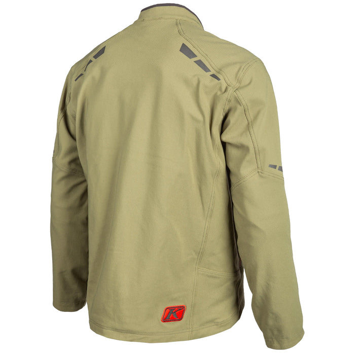 KLIM Marrakesh Jacket in Burnt Olive - Redrock