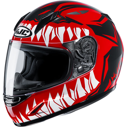 HJC CL-Y Zuky Street Youth Helmet in Red/Black