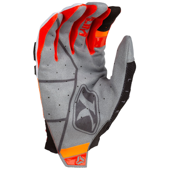 KLIM XC Lite Gloves in Orange Krush