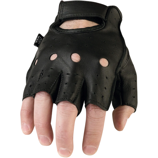 Z1R Men's 243 Leather Half Glove