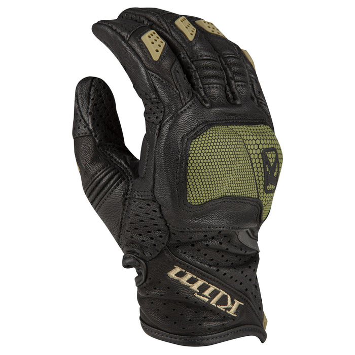 KLIM Badlands Aero Pro Short Gloves in Sage