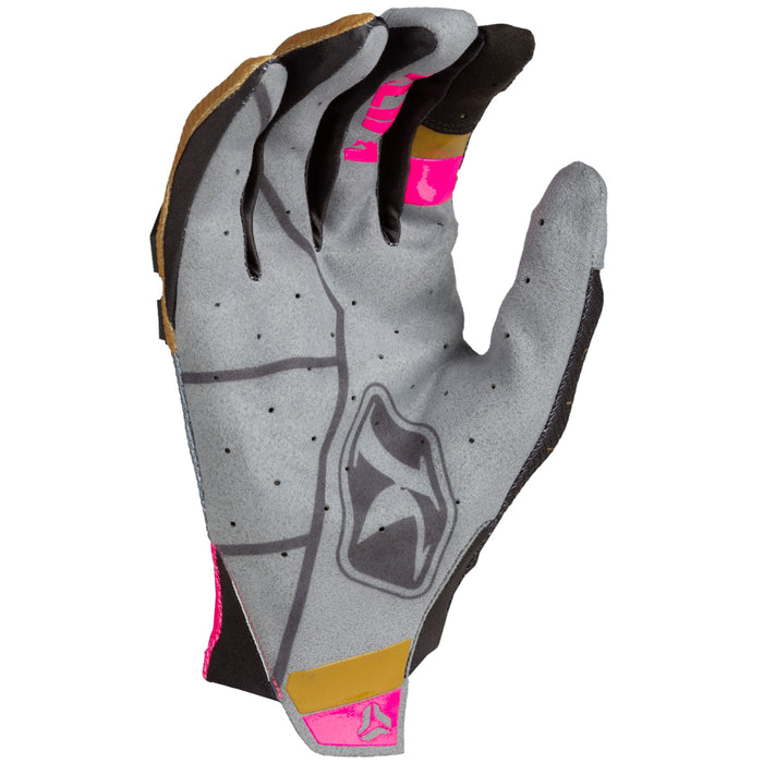 KLIM XC Lite Gloves in Killer Pink