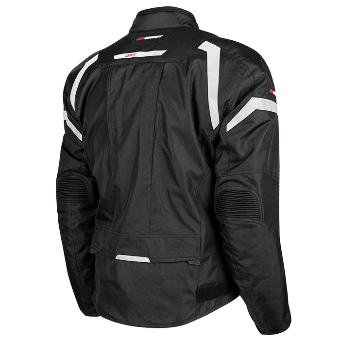 JOE ROCKET Men's Meteor Jacket in Black - Back
