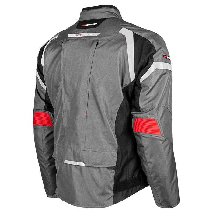 JOE ROCKET Men's Meteor Jacket in Gray/Black - Back