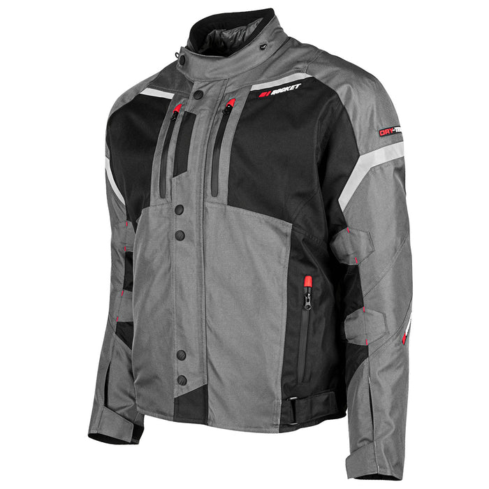 JOE ROCKET Men's Meteor Jacket in Gray/Black