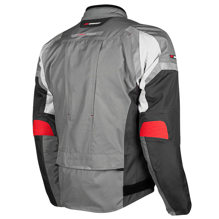 JOE ROCKET Men's Meteor Jacket in Gray/White - Back