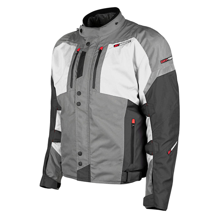 JOE ROCKET Men's Meteor Jacket in Gray/White