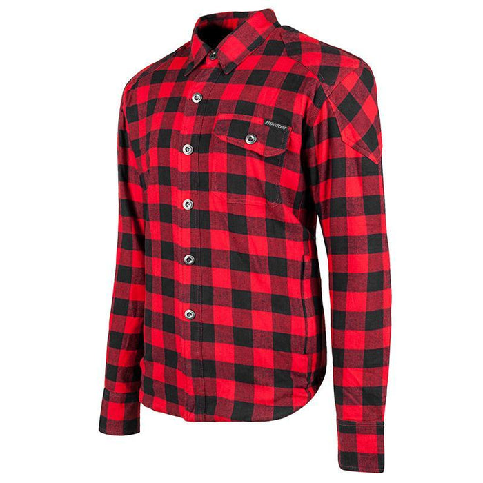 Mission Armoured Moto Shirt in Red