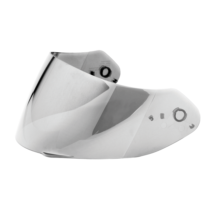 Scorpion EXO-R420 Everclear No Fog Shield in Silver Mirror