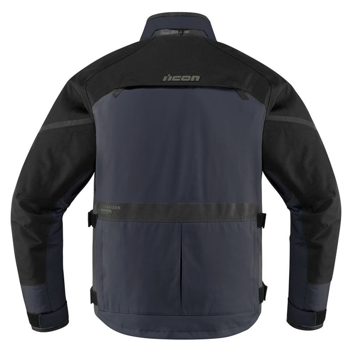 Icon Raiden Jacket in Blue - Back