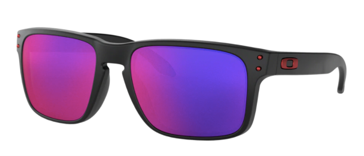 Oakley Holbrook Red Iridium Sunglasses