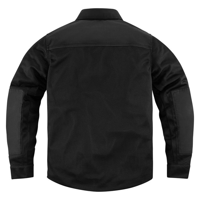 Icon Upstate Riding Shirt in Black - Back