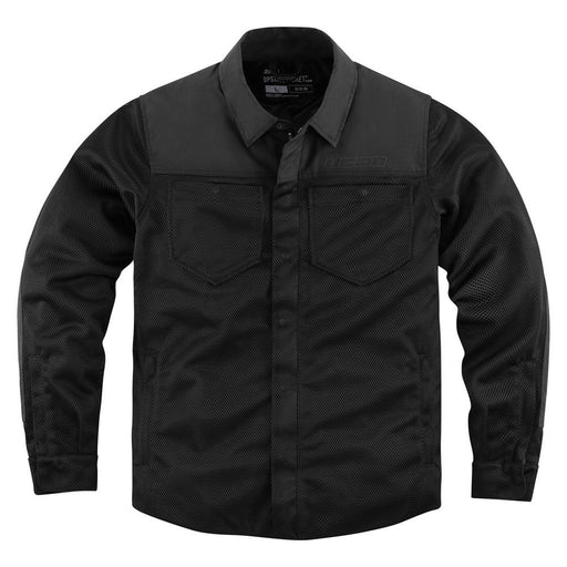 Icon Upstate Riding Shirt in Black - Front