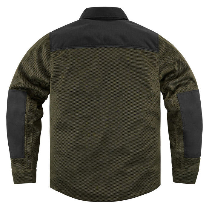 Icon Upstate Riding Shirt in Olive - Back