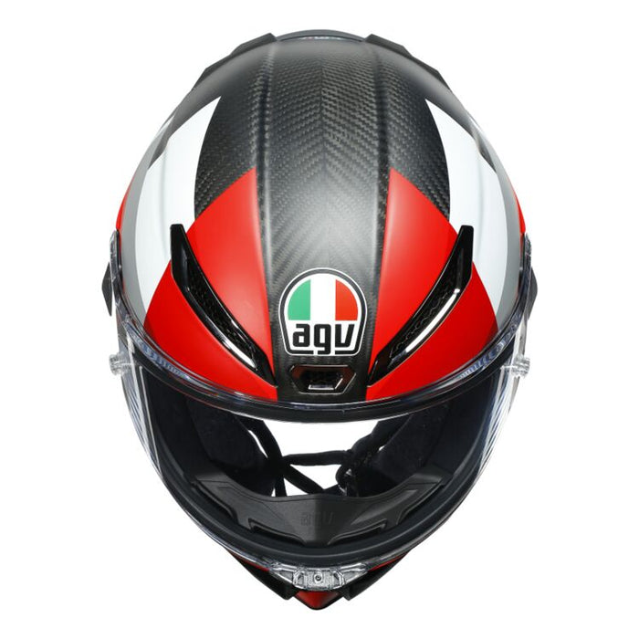 AGV Pista GP RR Competition Carbon/White/Red Helmet
