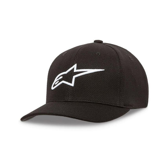 Alpinestars Ageless Mock Mesh Hats Men's Casual Alpinestars Black/White S/M