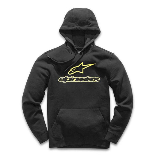 Alpinestars Always Fleece Hoodies Men's Casual Alpinestars Black/Yellow M