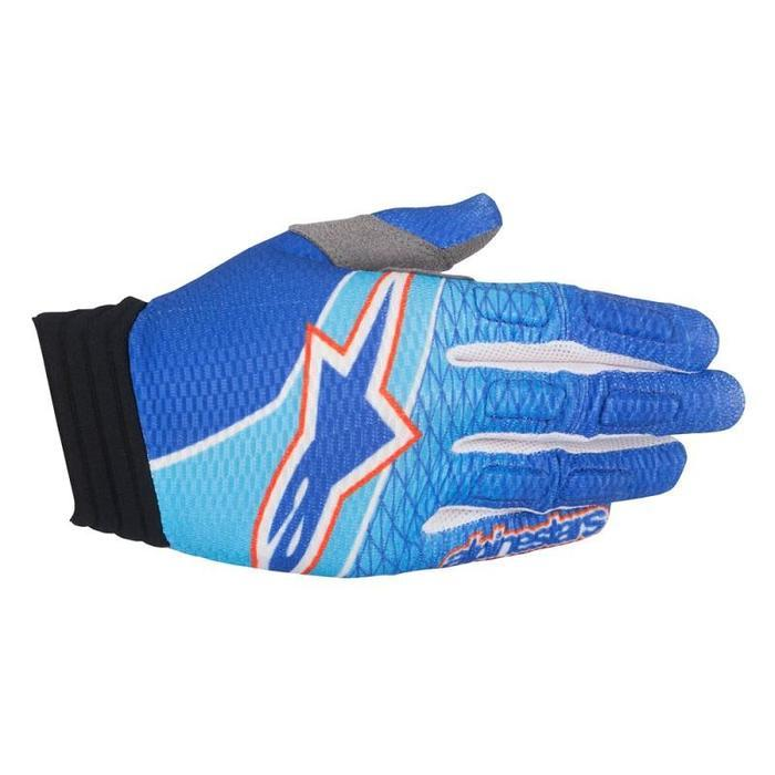 Alpinestars Aviator Motocross/Off-road Gloves Motocross Gloves Alpinestars Blue/Cyan/Red S