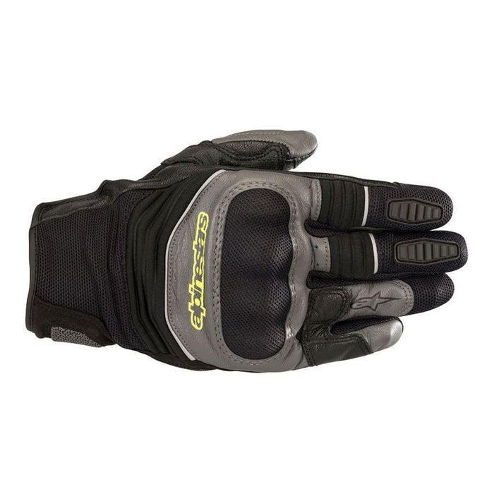 Alpinestars Crosser Air Touring Gloves Men's Motorcycle Gloves Alpinestars Black/Anthracite/Yellow Fluo S
