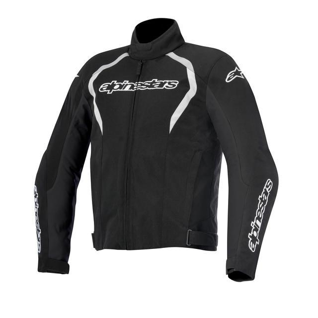 Alpinestars Fastback Waterproof Jackets Men's Motorcycle Jackets Alpinestars Black/White S