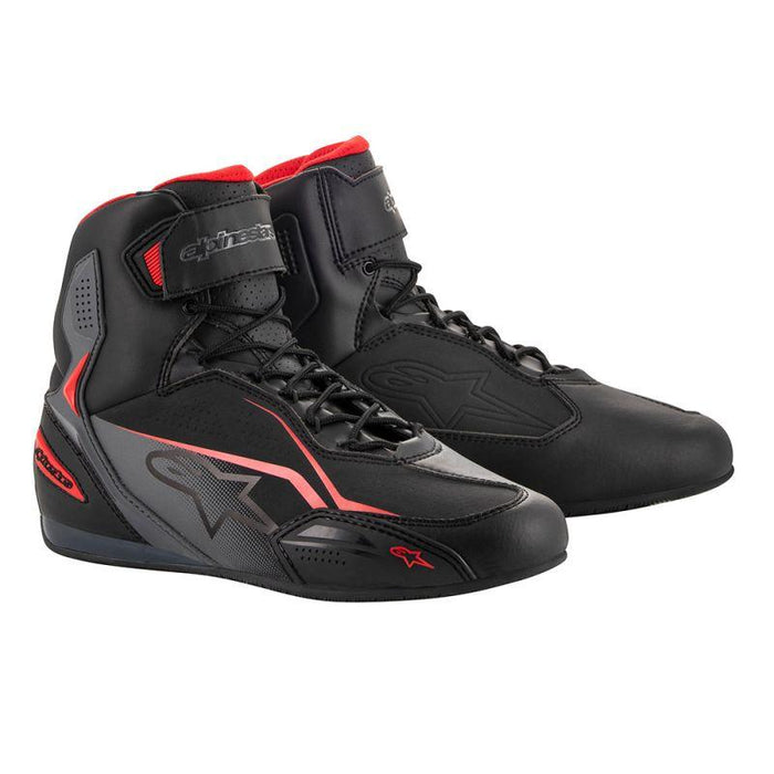 Alpinestars Faster 3 Riding Shoes Men's Motorcycle Boots Alpinestars Black/Gray/Red 7