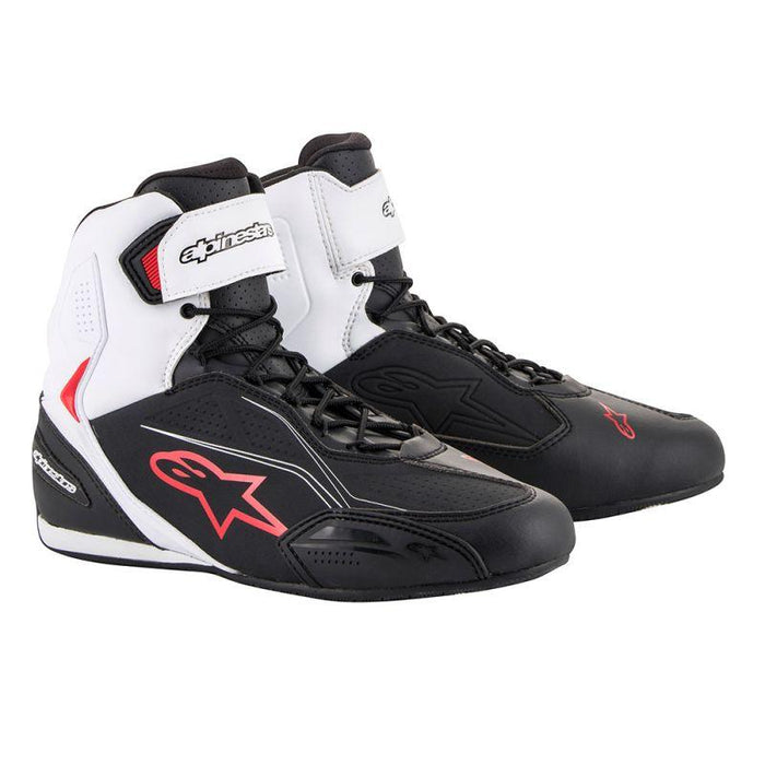 Alpinestars Faster 3 Riding Shoes Men's Motorcycle Boots Alpinestars Black/White/Red 7