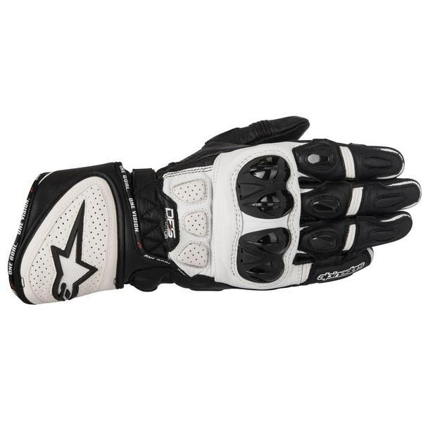 Alpinestars GP Plus R Leather Gloves Men's Motorcycle Gloves Alpinestars Black/White S
