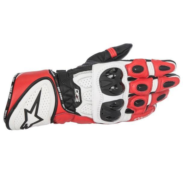 Alpinestars GP Plus R Leather Gloves Men's Motorcycle Gloves Alpinestars Black/White/Red S