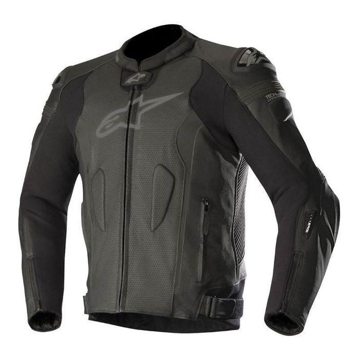 Alpinestars Missile Leather Jackets Men's Motorcycle Jackets Alpinestars Black/Black (Non-Airflow) 48