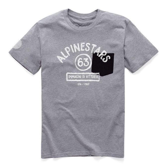 Alpinestars Paint Premium T-shirts Men's Casual Alpinestars Heather Gray M