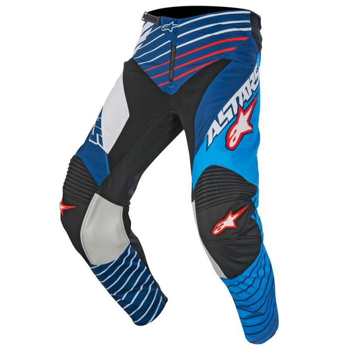 Alpinestars Racer Braap S7 Pants Men's Motocross Pants Alpinestars Cyan/White/Blue 28