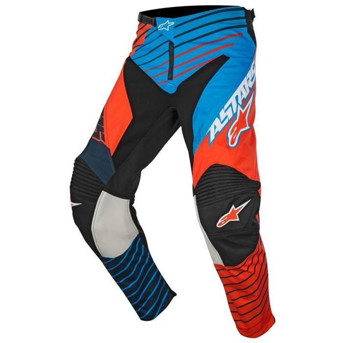 Alpinestars Racer Braap S7 Pants Men's Motocross Pants Alpinestars Petrol/Aqua/Orange 28